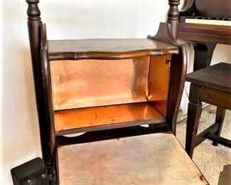 Brass Wood Stand