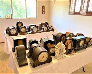 So many Mantle Clocks