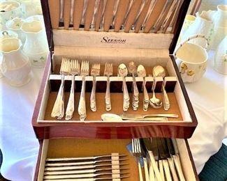 Gorham Silver Plate Set