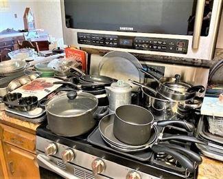 Kitchen Pots/Pans & More