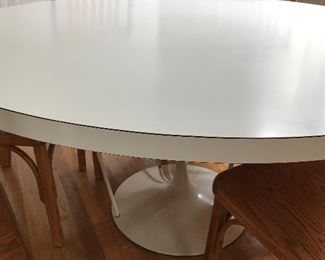 Custom made 5' Saarinen style Tulip table
