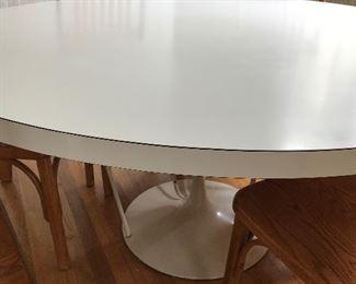 Custom made 5' Saarinen style Tulip table