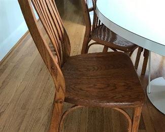 8 Vintage Eddie Bauer dining chairs
