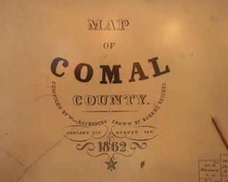 1862 Comal County map