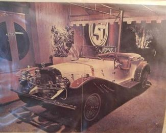 Photo of a 1929 Mercedes. We have the kit in garage ready for completing work. W/be sold Saturday