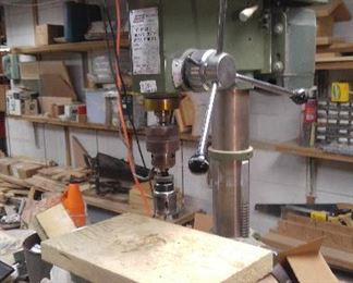 12 Speed Ludell drill press