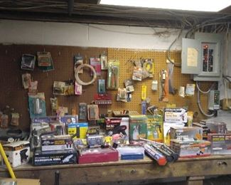 MANY POWER TOOLS, ALMOST ALL IN ORIG BOXES OR SHRINK WRAPPING