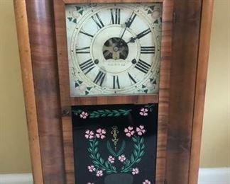 Antique 1845 Forestville 30 Hour Ogee Clock