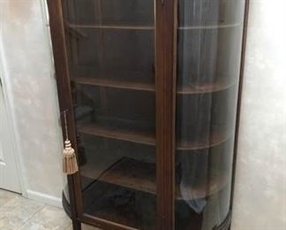 Antique 1890s Curio Cabinet
