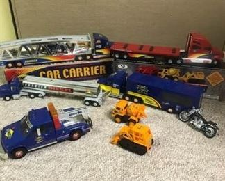 Collection of Sunoco Trucks