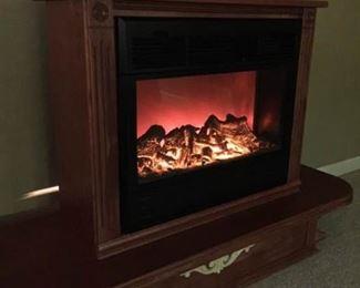 Heat Surge Portable Electric Heater Fireplace