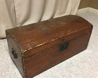 Small Antique Sailor Chest