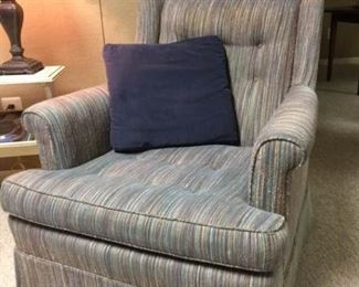 Upholstered Club Chair