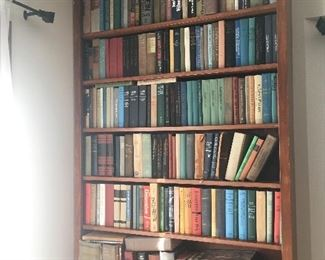 Large collection of vintage books and paper backs