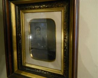 * Beautifully framed Early 19th century portrait prints including young girl