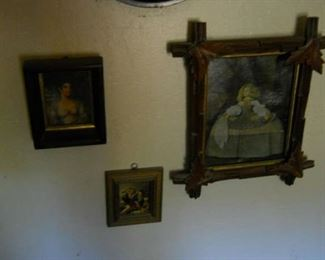small oil paintings bought at Barcelona spain