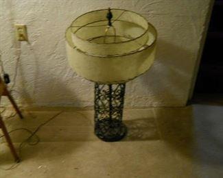 1960 mid century lamp