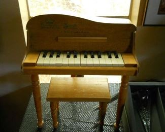 MY BABY GRAND PIANO MANY YEARS OF ENJOYMENT NEVER LET ANYONE  PLAY