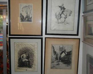 original etchings