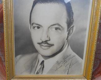 Mel Blanc original autograph