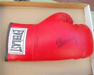 auto graphed boxer glove MAX SCHMELING GLOVE