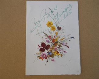 SIGNED CARD FROM TRIGGER