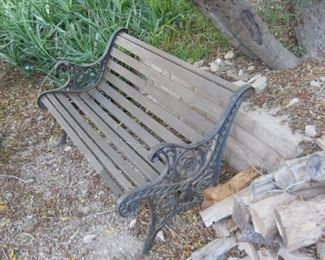 antique bench solid