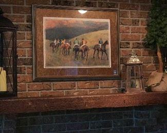 Artwork * horse painting