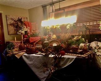 Fall decor* thanksgiving decor * Christmas decor
