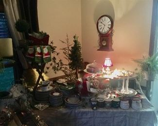 Crystal pieces * serving pieces * Christmas decor
