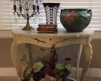 Fabulous Lamp, Roseville Pot