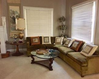 60s Sectional Sofa