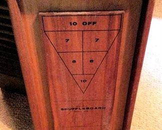 APT013 Wooden Shuffle Board Game