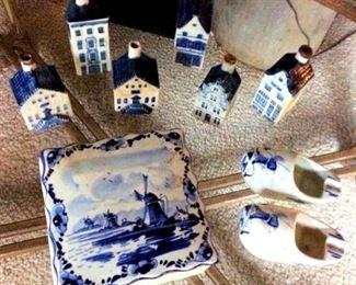 APT023 Vintage Holland Delft Collectibles
