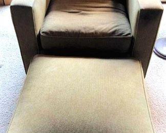 APT029 Swivel Chair & Ottoman