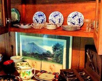 APT034 Gary Reed Art, China and  Glass