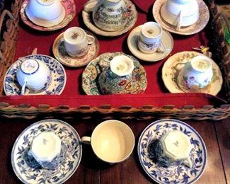 APT035 Eleven Beautiful Tea Cups
