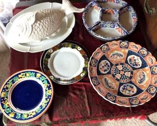 APT040 Large Asian Serving Platters