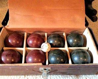 APT071 Bocce Ball Set in Box