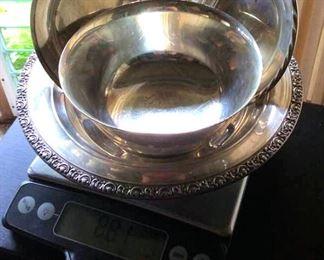 APT077 Sterling Silver Bowls