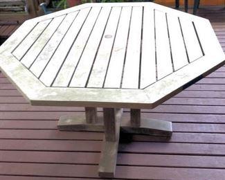 APT086 Wooden Patio Table