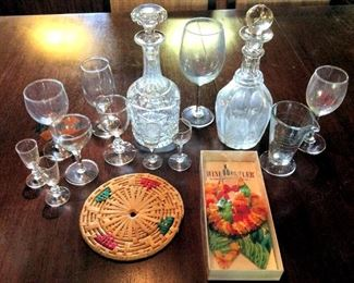 APT101 Bar Decanters & Glassware