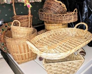 Baskets, a few longenberger