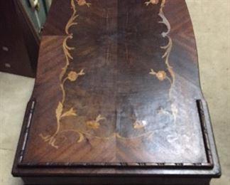 Inlaid coffee table