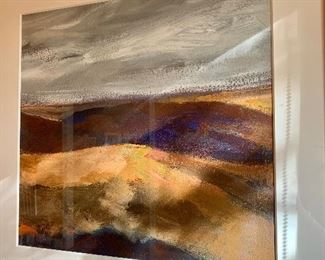 Landscape scene - acrylic