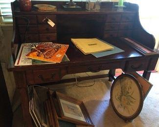 vintage desk  one of many