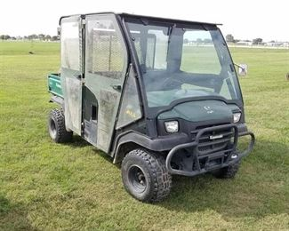 Kawasaki Mule 3010 side by side with cab