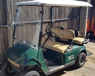 E-Z-Go gas powered golf cart - didn't turn over - needs new battery