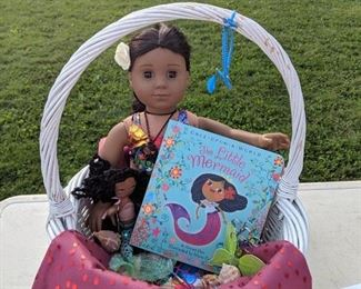 American Girl Doll Baskets with accessories!