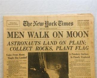 1969 NYT Moon Landing